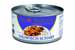 Thunfisch VD in Dressing Scharf 185g - JPG