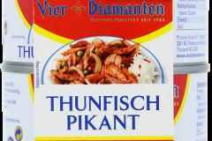 Vier Diamant Thunfisch Pikant 2x185g Towerpack